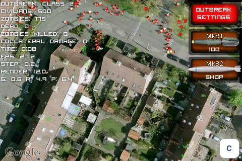 ZOS for iOS Netherlands map on iOS 5