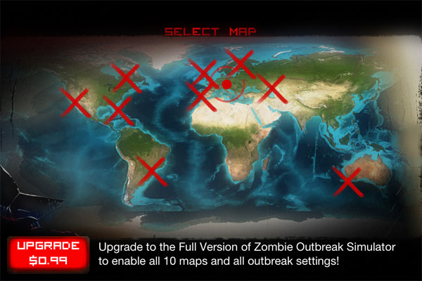 Zombie Outbreak Simulator Free for iOS version 1.0