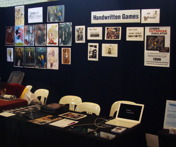 iZOS and Handwritten Games at Supanova