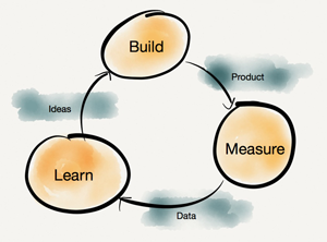 Build Measure Learn feedback loop
