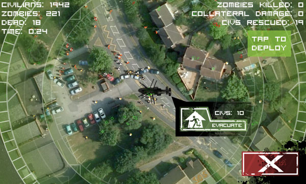 ZOS for Android: Rescue helicopters